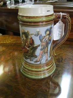 German Pottery Tankard