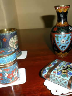 Selection of Small Cloisonne Pieces