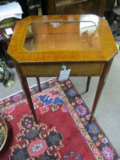 Edwardian Display Table/Cabinet