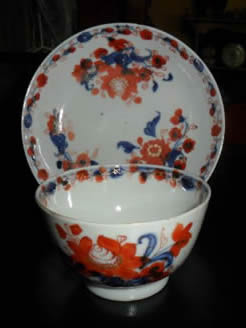Chinese Tea Bowl and Saucer