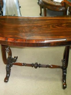 Victorian Rosewood Side Table.