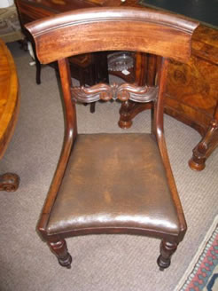 Set of six 19th century chairs