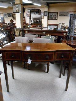 Mahogany Side Table.
