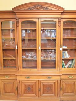 A Victorian mahogany four door bookcase