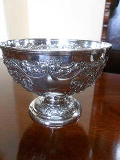 Silver Bowl. Sheffield 1900