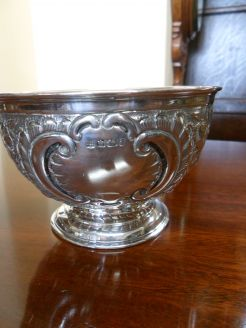 Silver Bowl. Sheffield 1901