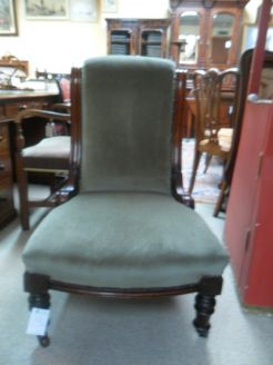 Victorian Low Chair.