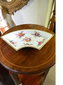 19th century hand painted dish