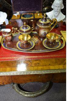 Bavarian porcelain breakfast set