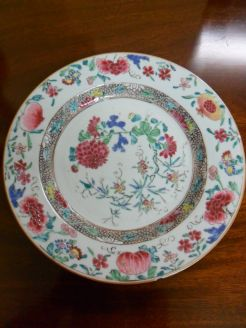 18th Century Chinese Plate.