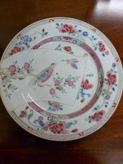 18th Century Chinese Plate.