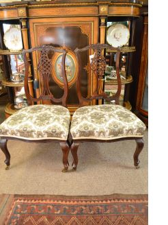 Pair of late 19th century chairs