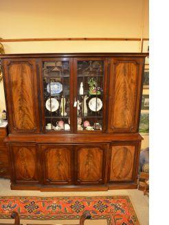 1920s Mahogany Bookcase