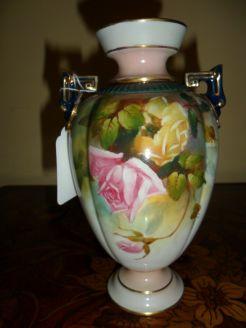 Royal Worcester Vase, Signed J. Flexman
