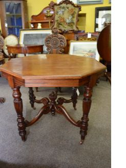 Late 19th century mahogany occasional table