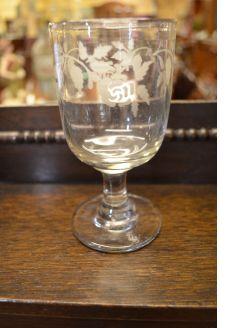 Victorian glass rummer