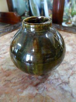 Dunmore Treacle glaze Vase