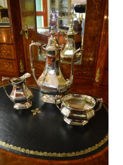 American 3pc sterling silver coffee-set