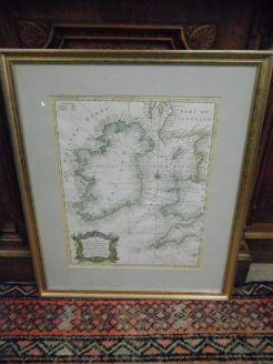 18th century Irish Map