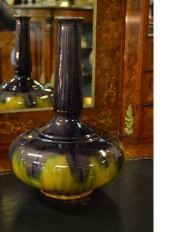 19th century Minton majolica vase