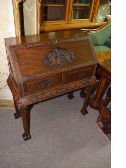 Chinese camphor wood  writing bureau