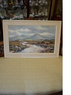 Oil painting, irish