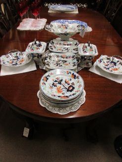 18 piece Victorian ironstone china