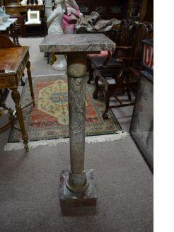 Marble pedestal/pillar