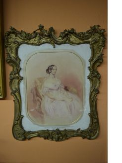 19th century gilt framed watercolour