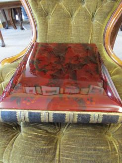 19th century japanese lacquered photo album