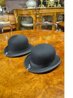 Selection of bowler hats