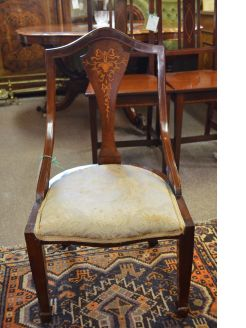 Edwardian low chair
