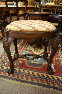 Mahogany stool