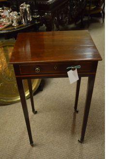 Edwardian mahogany side table