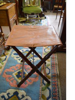 Victorian folding stool