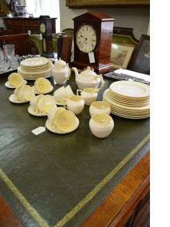54 piece belleek set