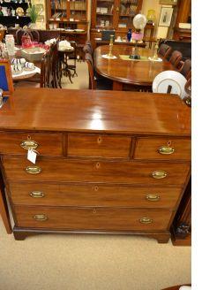 19th century mahogany chest