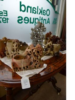 Various chinese carved soapstone available