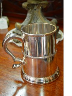 Irish Silver Tankard