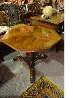 19th century mahogany centre table