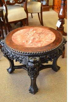 Chinese cherrywood low table
