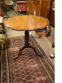 Georgian mahogany occasional table