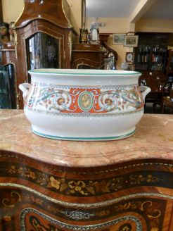 Victorian staffordshire foot bath