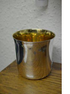 Irish silver tumbler