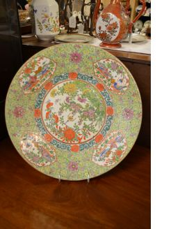 19th century chinese ,cantonese plate
