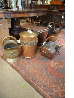Various coal scuttle/ helmets available
