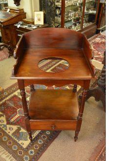 Victorian mahogany washstand