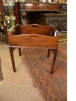 Mahogany tray - top table