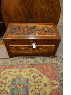Chinese camphor wood chest/ trunk