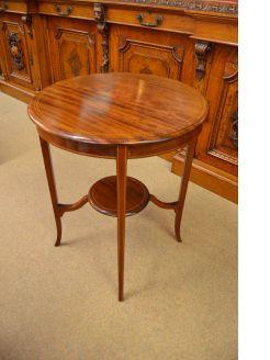 Edwardian circular ocassional table